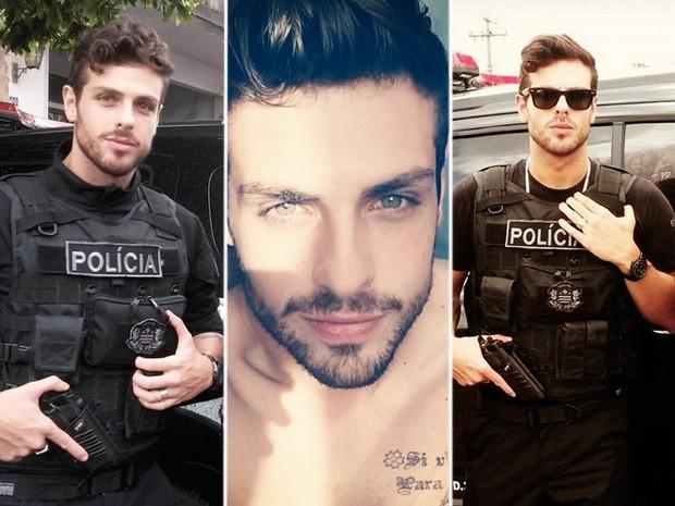 policial gato