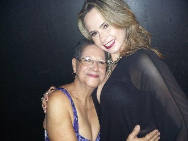 Ana Paula e DonaGeralda