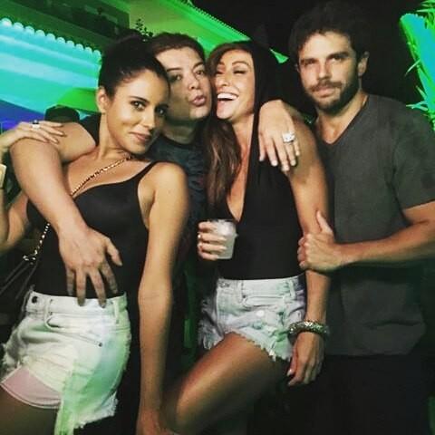Marina Morena, David Brazil, Sabrina Sato e Duda Nagle